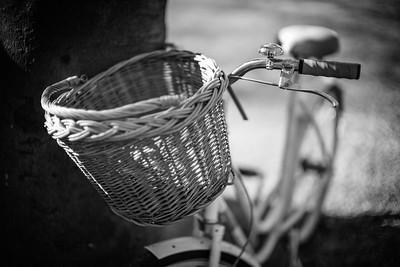 Fahrrad im Siebentischwald, Augsburg, Schwaben, Bayern, Deutschland