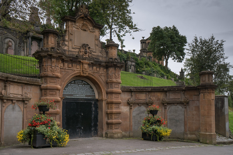 Entrance to the Glasgow Necropolis