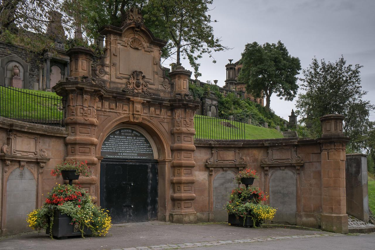 Entrance to the Glasgow Necropolis