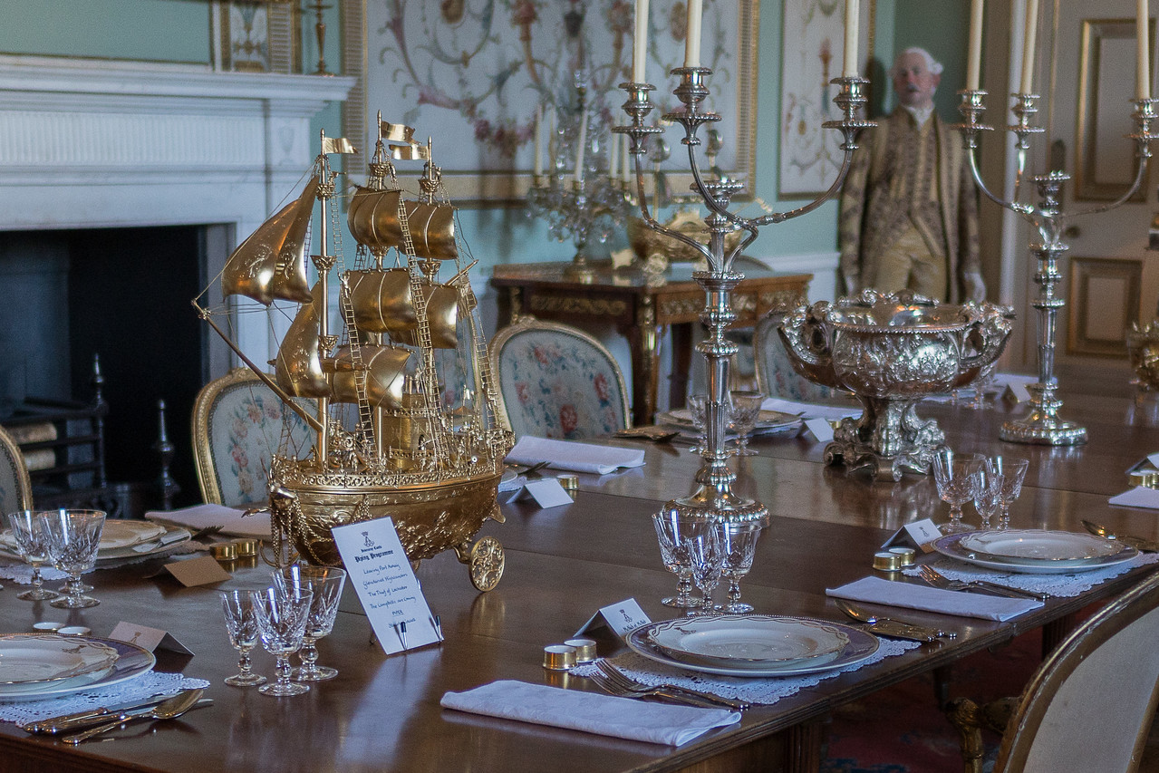 The State Dining Room at Inveraray