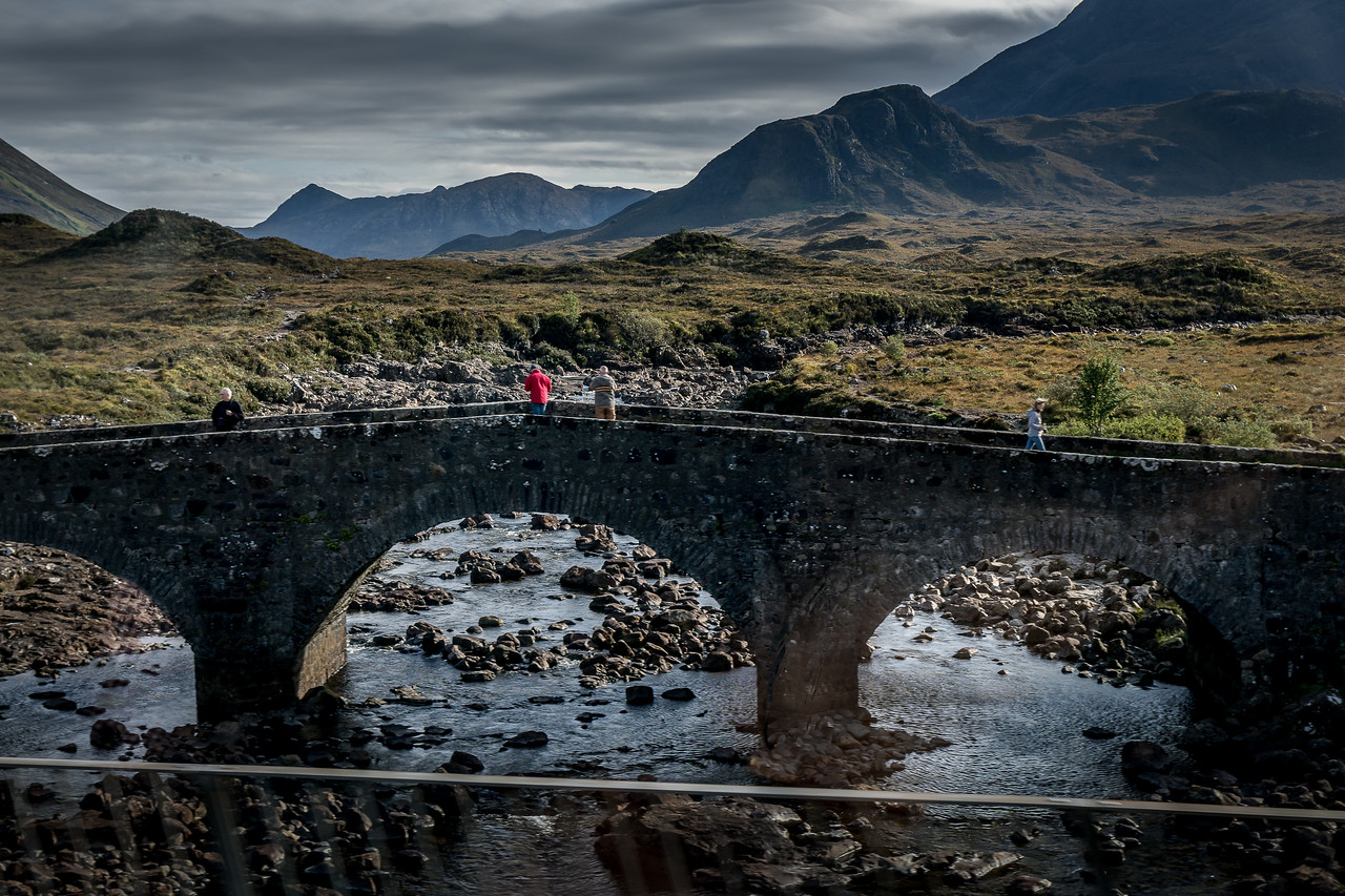 Sligachan Bridge on the Isle of Skye