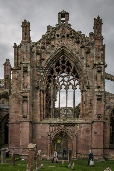 Eastern Window, Melrose Abbley