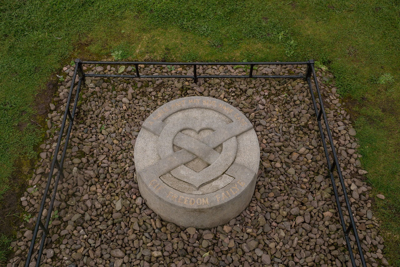Burial site of the heart of Robert the Bruce