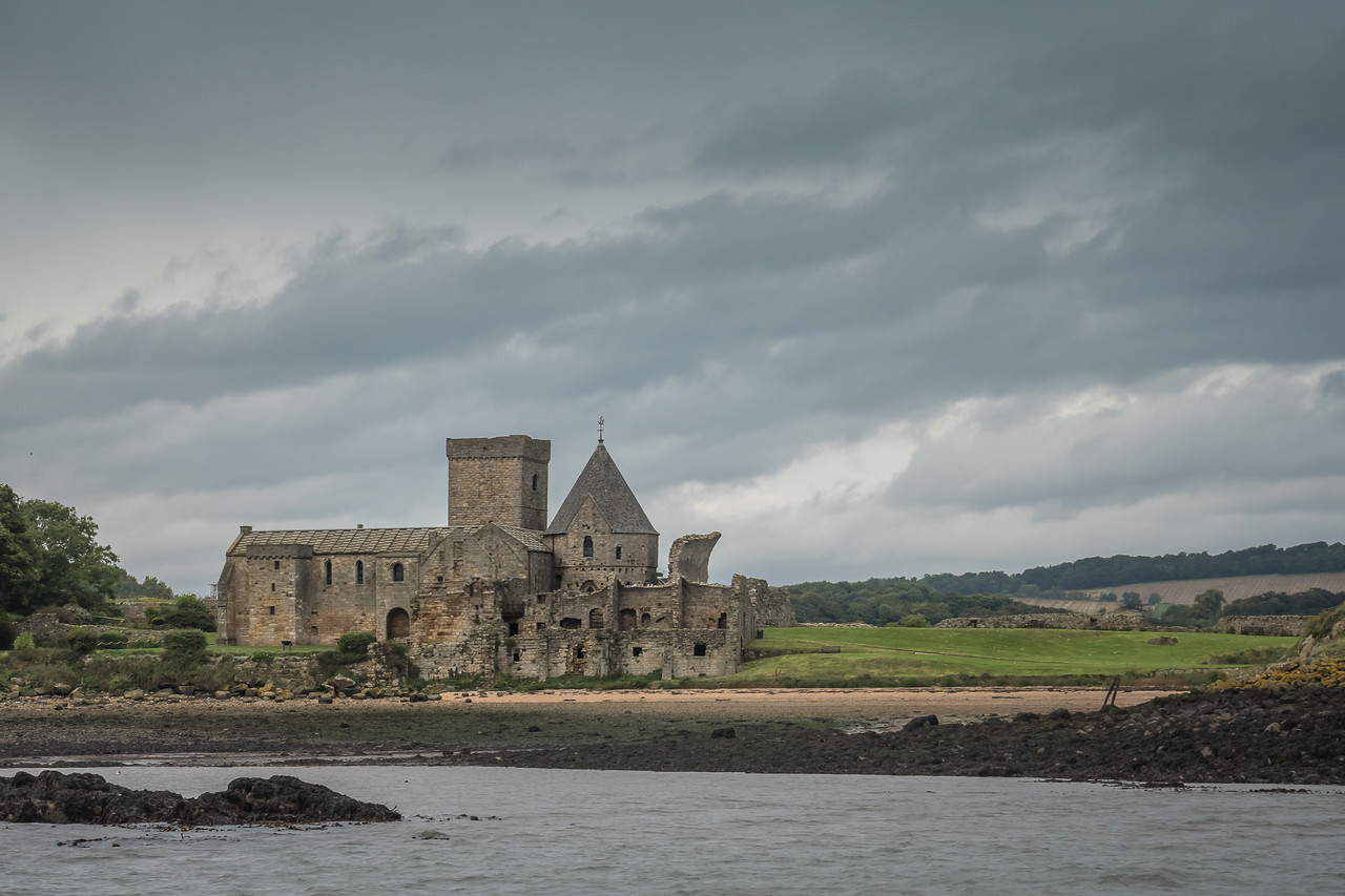 Inchcolm Abbey on the banks of the Forth