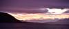 Sunrise, Strollamus, Isle of Skye, Scotland - from camper site. True colors