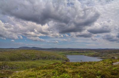 Clouds in Outer Hebrides Photo by Roman Betik from the blog http://www.StillGlimmers.com/