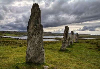 Standing Stones in Callanish Standing Stones in Callanish