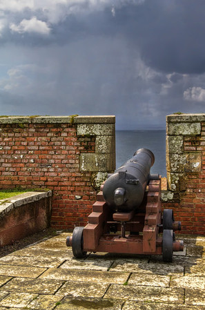 Cannon at Fort George Cannon at Fort George