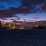 Sydney Harbor Sunset