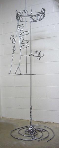 steel,  3 x 7' (aprx)  2004