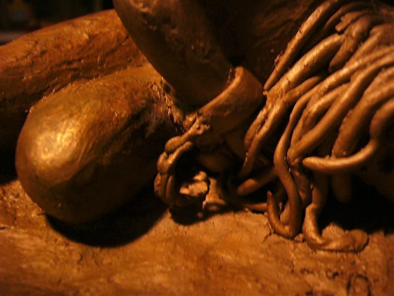"""bronze (lost wax casting)  13 x 4 x 6.5""""  2005"""