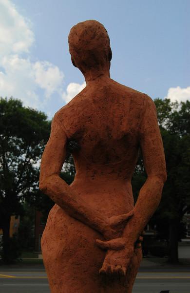 McCormick Boulevard Sculpture Garden