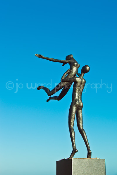 Taken at Sculpture By The Sea at Cottesloe Beach, Western Australia
