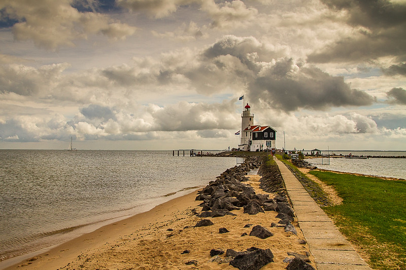 Marken Lighthouse, Markemeer, The Netherlands