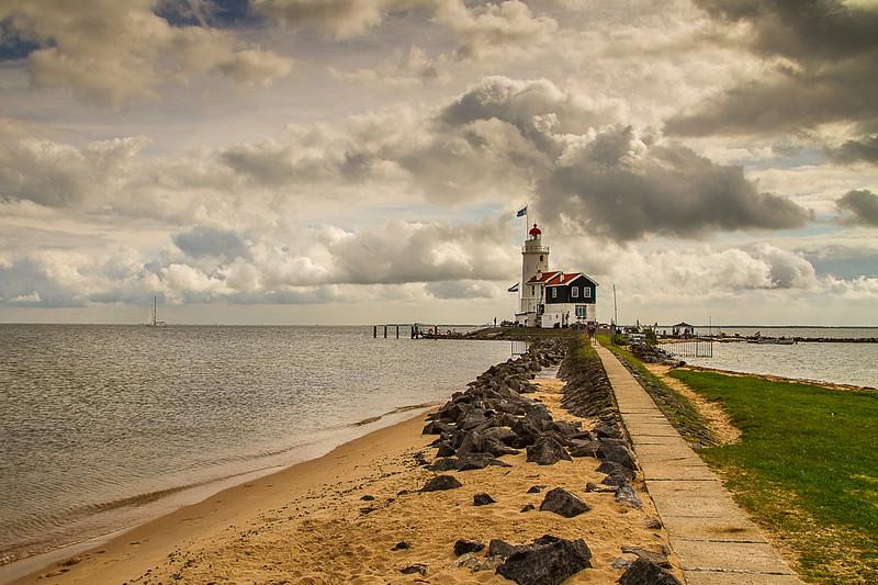 Marken Lighthouse, Markemeer, The Netherlands