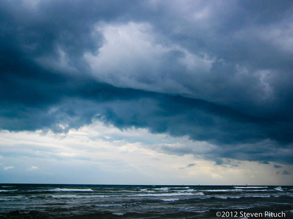 9/16/2012 - Corpus Christi - near the Holiday Inn on North Padre Island.