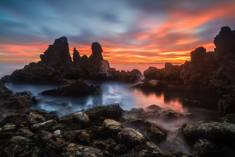 Newport Beach Sea Stacks