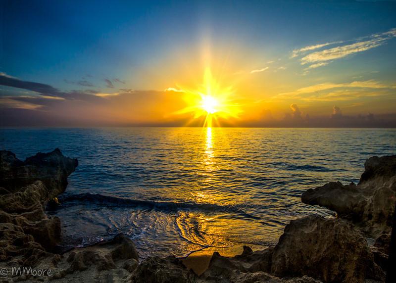 Sunrise at Coral Cove
