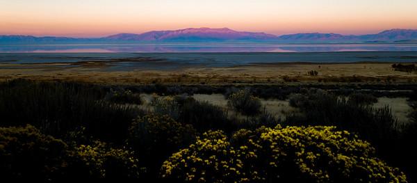 Salt Lake Sunset