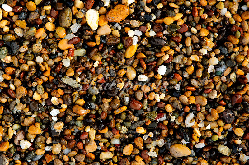 Colorful pebbles