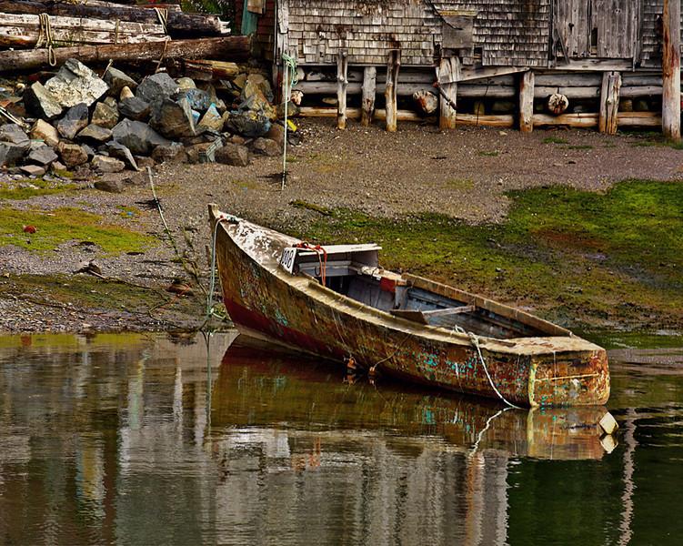 Abandoned Workboat,