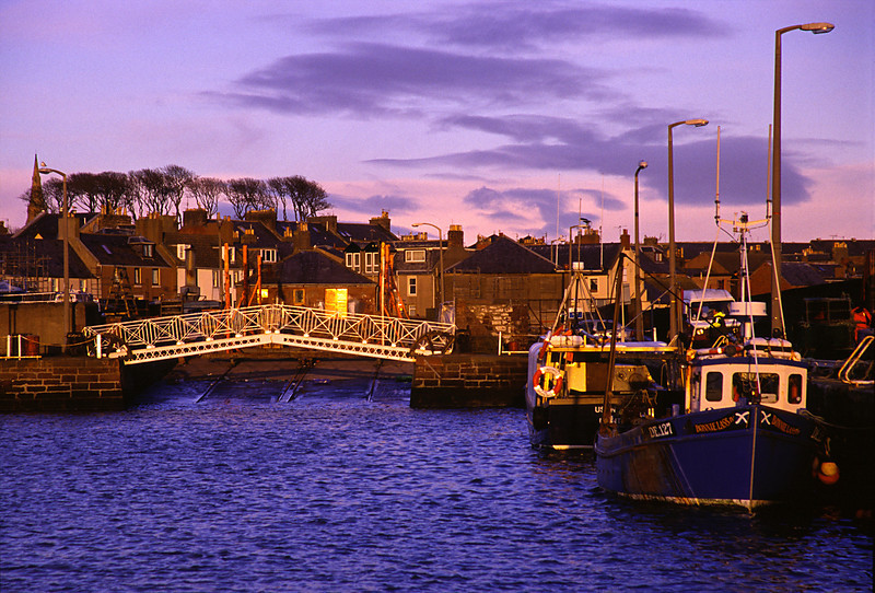 Arbroath harbor