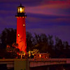 Jupiter Lighthouse at Night
