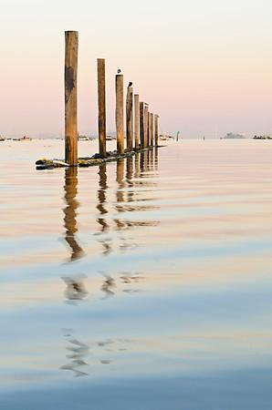 Sausalito Marina sunset