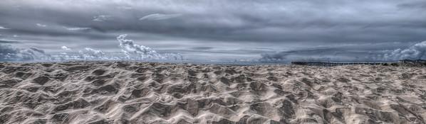 """Sand Pile Panorama"""