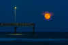 Super moon - Bob Hall Pier