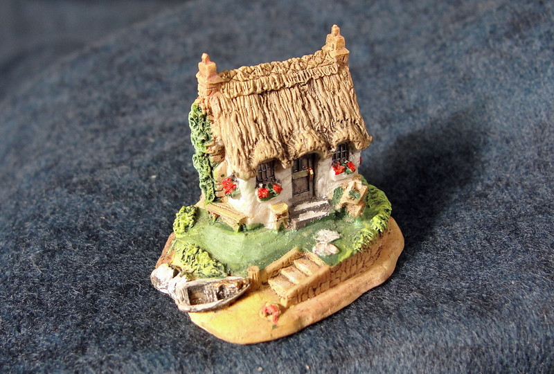 Close-up of beach Cottage.