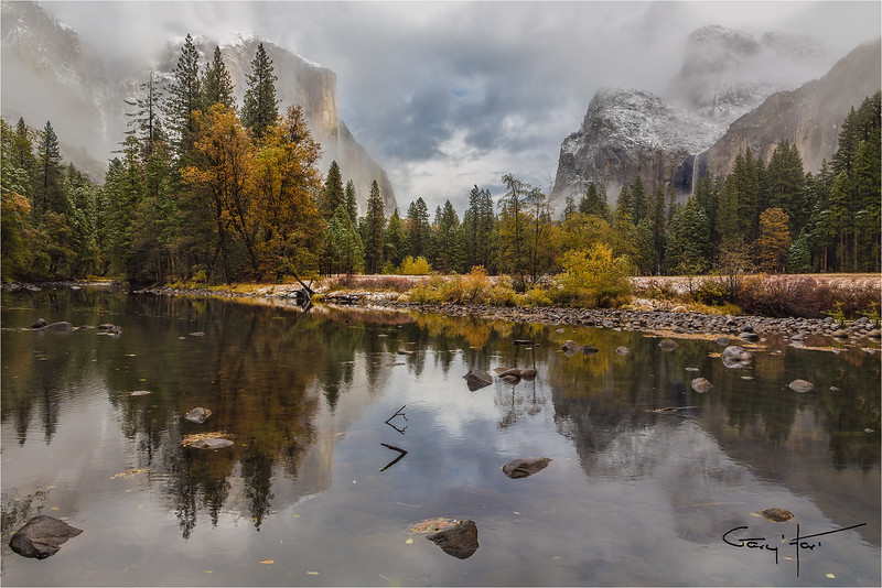 Autumn Storm, Valley View, Yosemite