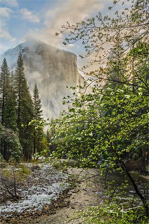 Spring Snow, El Capitan, Yosemite