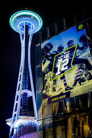 Seattle Space Needle 12!