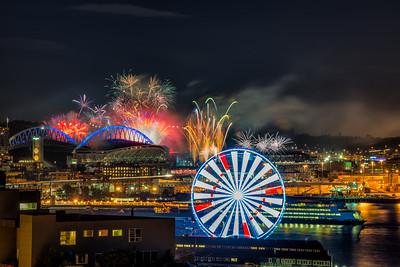 mariner's Fireworks show 2015