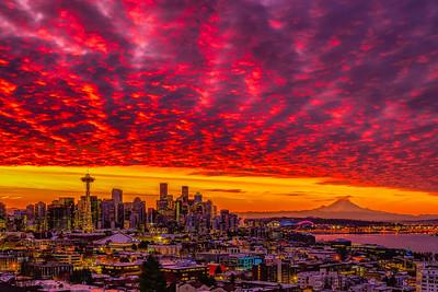 A Dramatic Fall Sunrise
