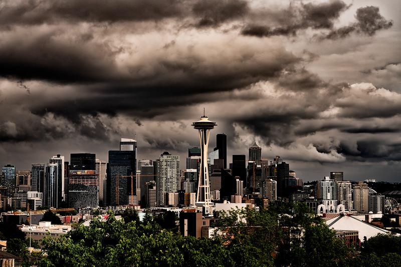 Seattle Cloud Drama