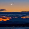 Crescent Moonset