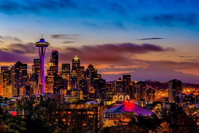 WDay Sunrise from Kerry Park