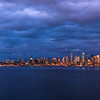 Seattle Blue hour