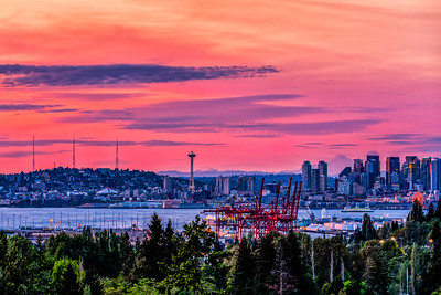 West Seattle Sunset