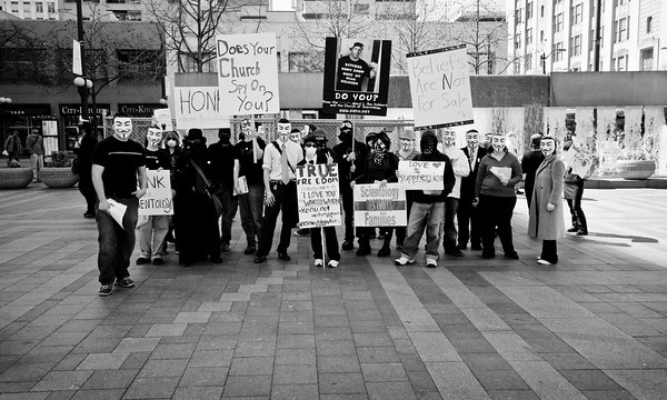 Protesters - Seattle, WA