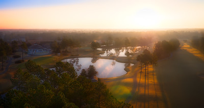 Sunrise at Magnolia Greens Golf Course