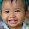 Sweet child in Siem Reap, Cambodia.