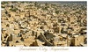 "Jaisalmer City as shot from Jaisalmer Fort, Rajasthan, India.   <a href=""http://photos.suchit.in/photos/143587794-O.jpg"">http://photos.suchit.in/photos/143587794-O.jpg</a>"