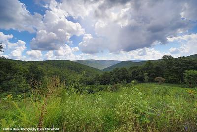 Calf Mountain Overlook, Shenandoah National Park, Virginia