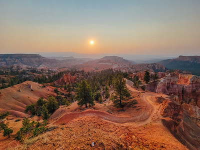 Queen's Garden Trail, Sunrise Point, Bryce Canyon National Park, Utah - 8100 feet (2469 m)