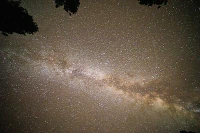 Milky Way Galaxy, Night Sky, Bryce Canyon National Park, Utah