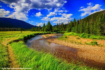Colorado River, Coyote Valley Trailhead, Rocky Mountain National Park, Colorado