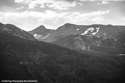 Never Summer Mountains, Rocky Mountain National Park, Colorado